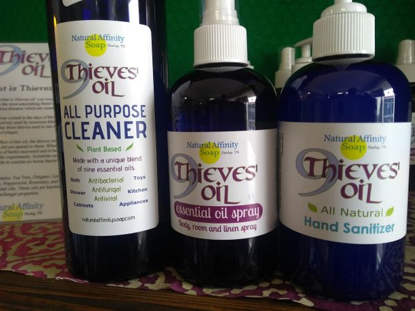 9Thieves Essential Oil Spray. 8oz