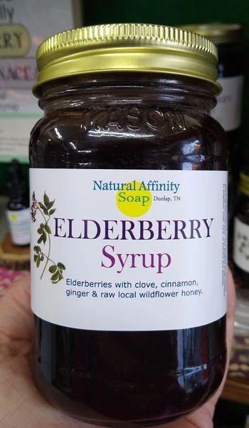 Elderberry Syrup, 16oz