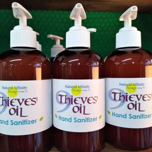 9Thieves' Oil Hand Sanitizer 8oz