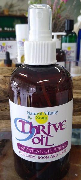 9Thrive Oil Essential Oil Spray, 8oz (Formerly 9Thieves' Oil)