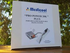 Medicool Power Pro 20k PLUS Drill- Autoclavable Handle