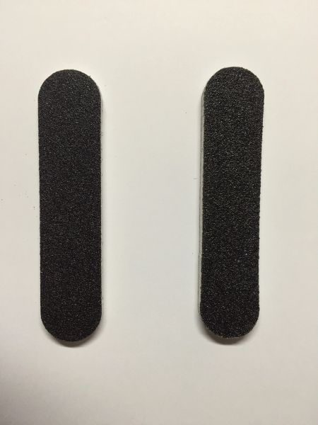 Nail Files 100/180 grit 9cm x 2cm with foam centre- 80 count