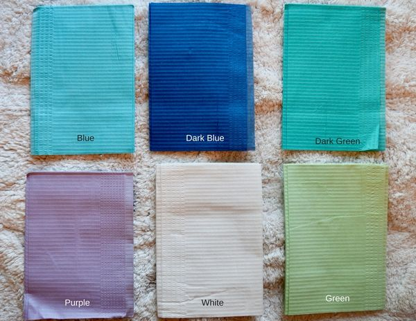 Dental Bibs (Drapes)/ 125 Pack