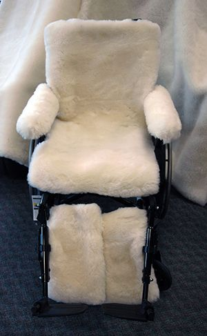 Merino Wool Wheelchair Cover