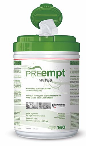 PREempt Wipes- Surface Disinfectant