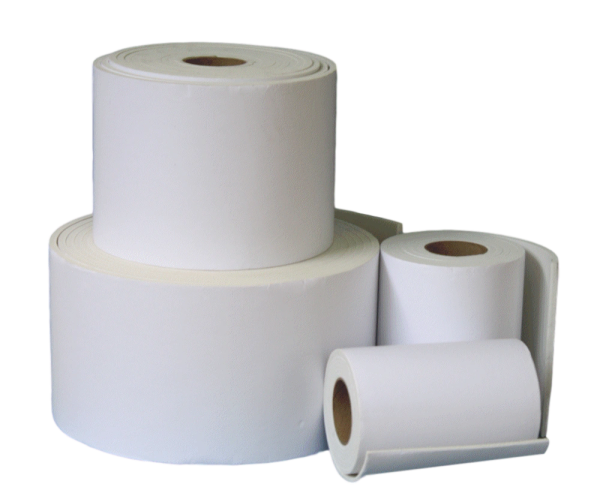"""1/4"""" White Foam Padding with Adhesive Backing, 6"""" Wide- Buy by the Foot"""