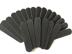 100 Nail files 9cm x 2 cm 100/180 grit 1.5 mm thick- Packs of 200
