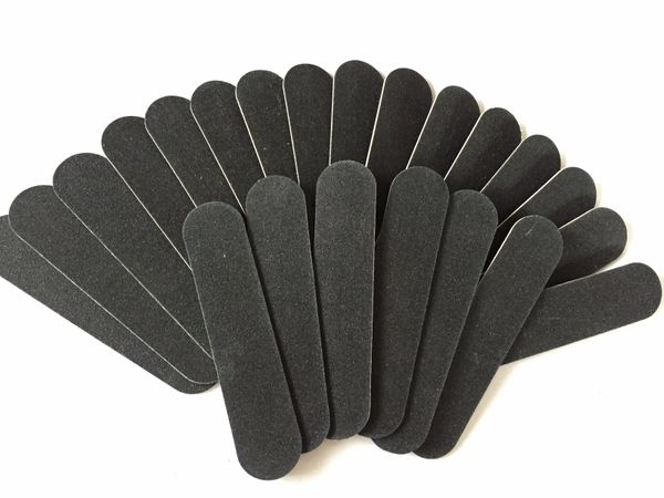 Disposable Nail files 9cm x 2 cm 100/180 grit 1.5 mm thick- Packs of 200