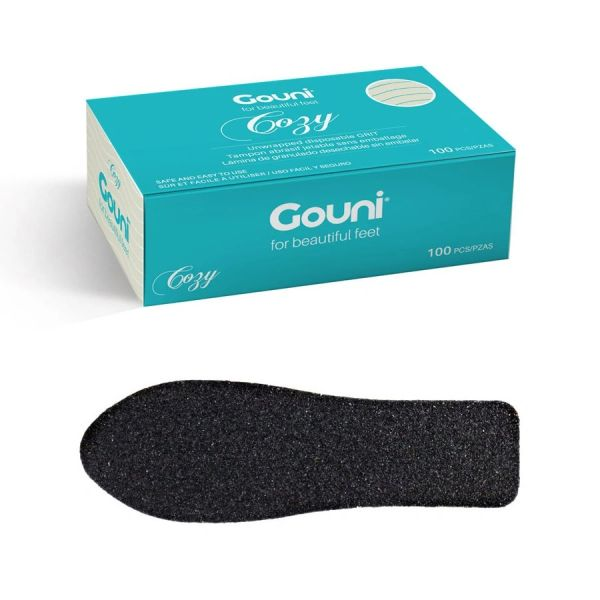 Gouni Disposable Cozy File replacements *Unwrapped*: grits 60, 100, and 220
