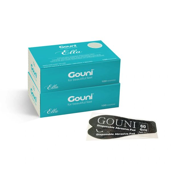 Gouni Disposable Ella File Refills *Individually Wrapped*, Grits 60, 100, and 220