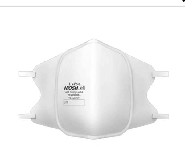 Flat Fold Disposable N95 Respirator