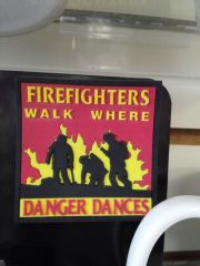 Fire Fighter Magnet