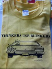 Thinkers Use Blinkers Shirt