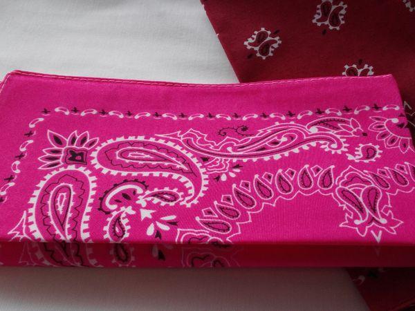 Pink Bandana #1974