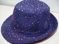 Purple Sparkle Fedora