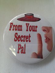 From Your Secret Pal Button #2133