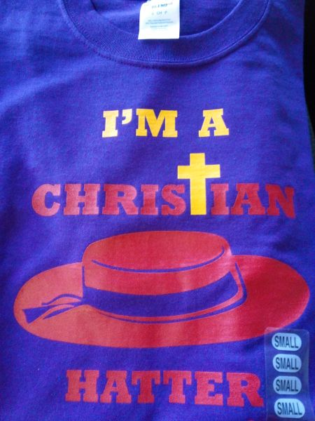 I'm Christian Hatter Long Sleeve T-Shirt