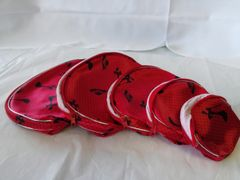 5 Pc Red Cosmetic Set #1292