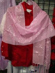 Large Pink Scarf