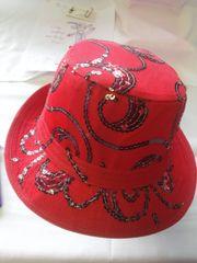 Red Sequin Fedora #2283