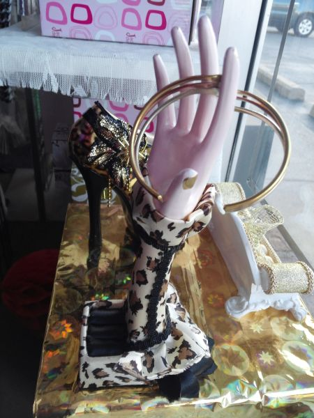 Leopard Print Hand Ring Holder