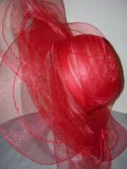 Red Crushable Hat 2 #2203