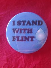 Flint Water Button #2618
