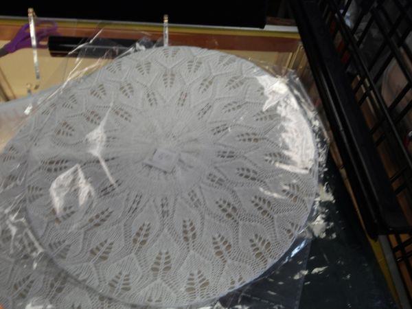 White Knit Tam #2640