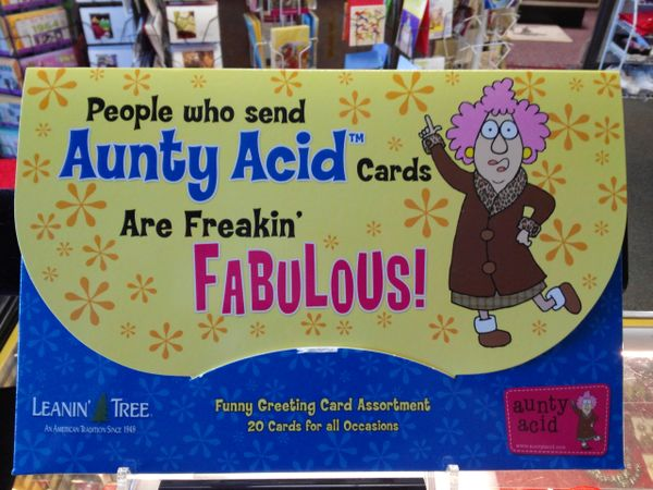 Aunty Acid 20 Cards Assortment #2663