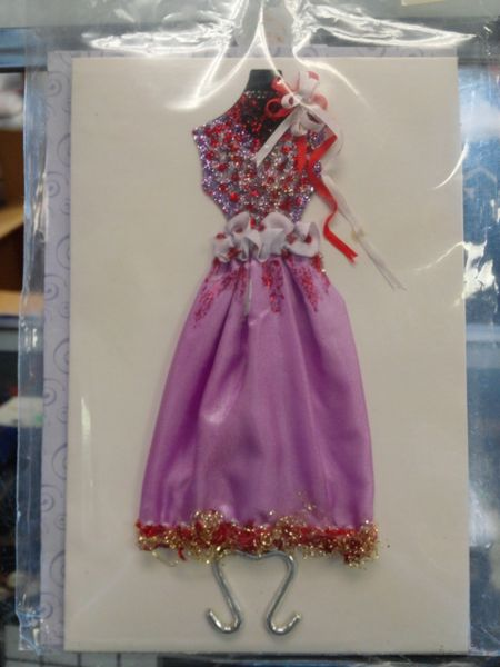 Custom Dress Greeting Card #2679