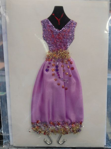 Custom Dress Card #2680