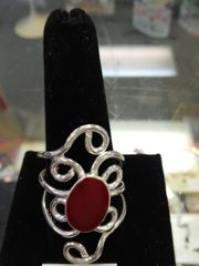 Art Nouveau Gypsy Style Ring #2710