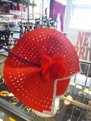 Red Hat with Rhinestones #2761