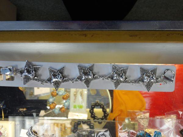 Silver Cowgirl Bracelet #2762