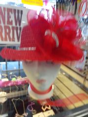 Red Straw Hat #2776