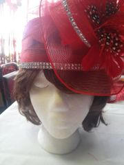 Red Hat with Rhinestones #2853