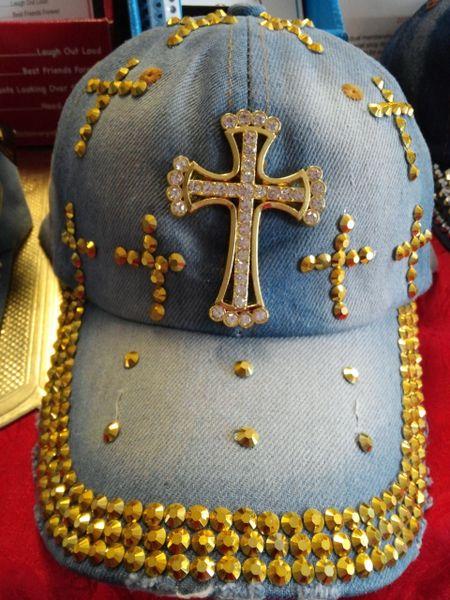 Cross Denim Cap #2883