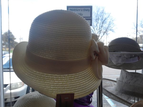 Cream Derby Hat #2953