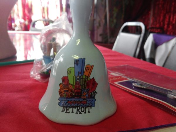 Blue Detroit Bell #3021