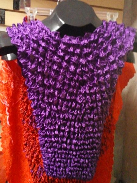 Purple Popcorn Top #3061