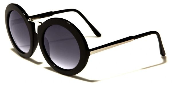 Wide Round Sunglasses #3081