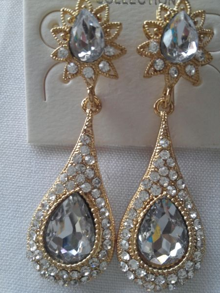 Gold Earrings #3112