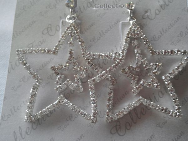 Star Earrings #3116
