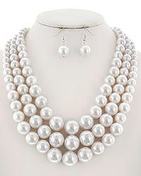 White Pearls Set 3305