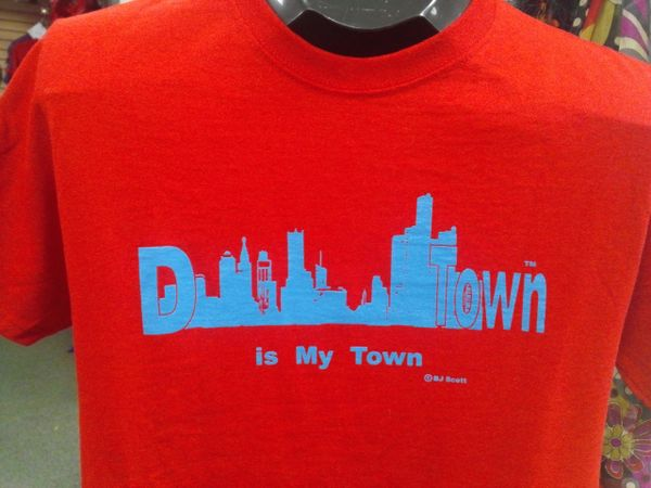 D Town is my Town Shirt #4001