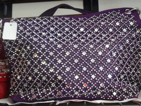 Purple Rhinestone Purple #3220