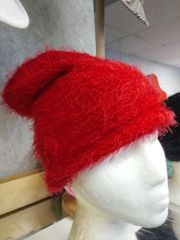Red Winter Hat #3509