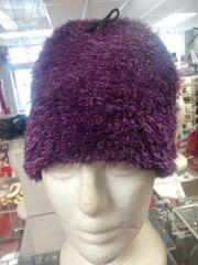 Purple Fuzzy Hat #3510