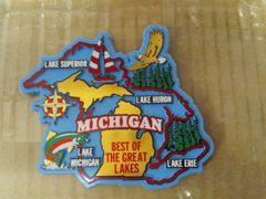 Best of Michigan Magnet #3620