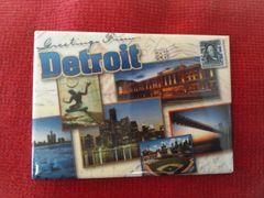 Detroit Collage 2 Magnet #3636